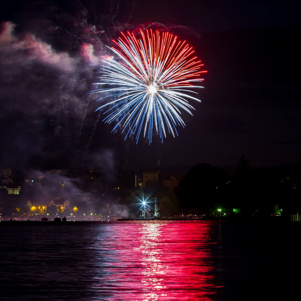 Feux d'Artifice Annecy