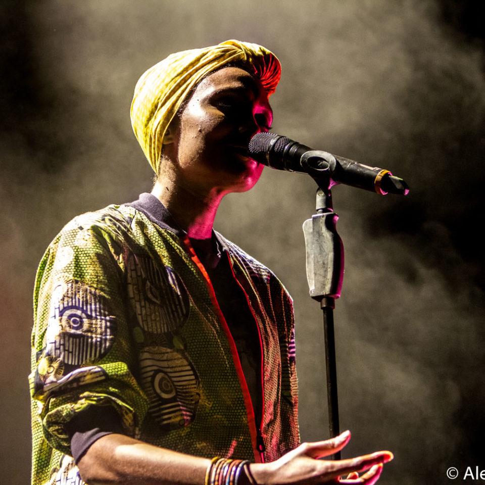 Concert Imany – Pleins Feux Festival